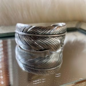 Fossil Feather Cuff